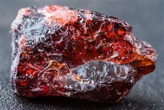 Deep Red Uncut Rhodolite Garnet