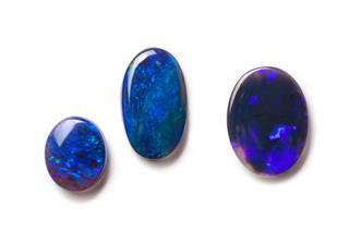 Black Australian Opals