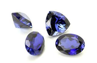 Blue Sapphire Or Tanzanite