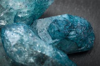Macro Image Of Raw Jewels