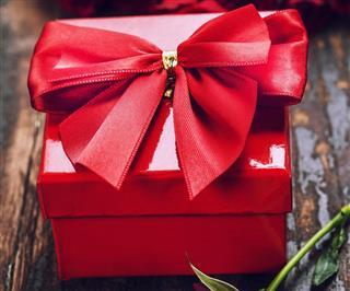 Red Valentine gift