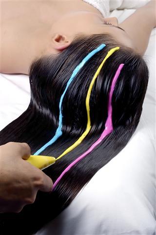 Hair Dye Coloring
