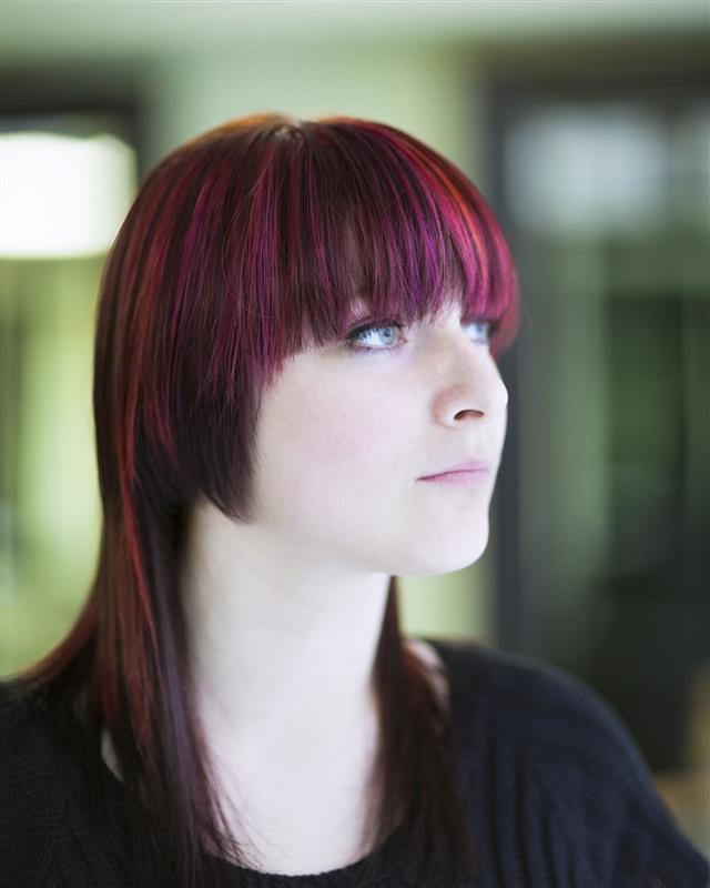 Hair Styling Portrait