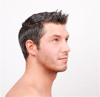 Man Hair Portrait