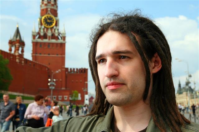 Man With Dreadlock Hair