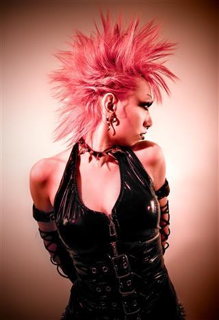 Punk Gothic Look
