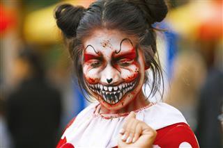 Halloween Costume And Makeup