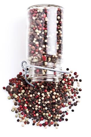 Blend Of Peppercorns Close Up