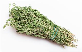 Bunch Of Fresh Cut Thyme Herb