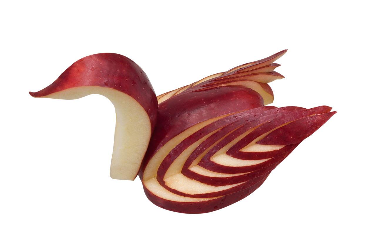 How to Make an Apple Fruit Salad