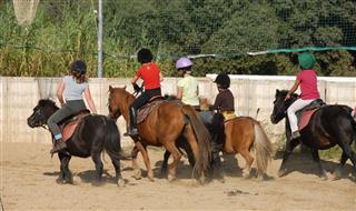 Riding Children