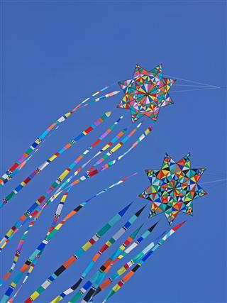 Multi Colored Kites