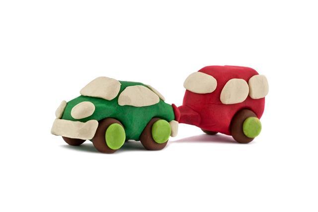 Plasticine Car