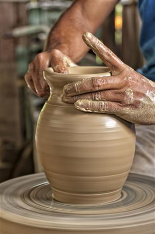 Pottery Artist Handmade