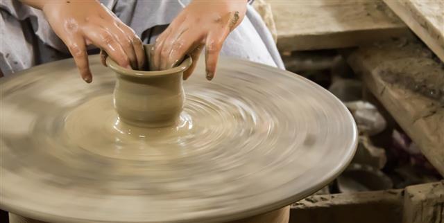 Pottery Craft Wheel