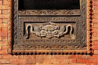 The Window In Kathmandu Nepal