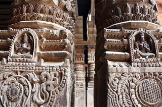 Carving At Kathmandu