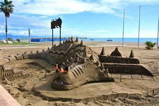 Sculpture Of A Dragon