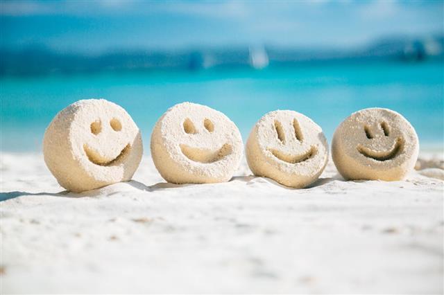 Sand Smileys