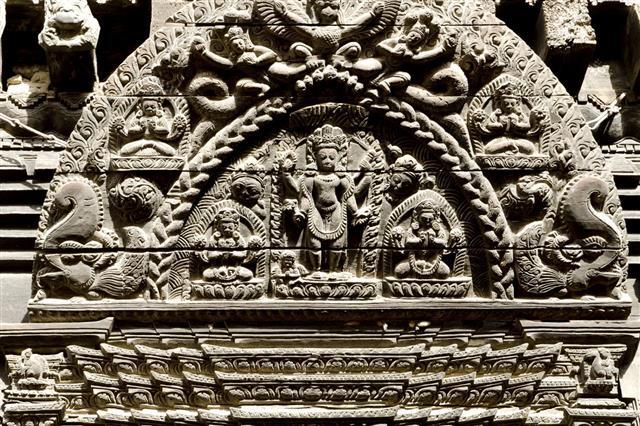 Wooden Art In Bhaktapur
