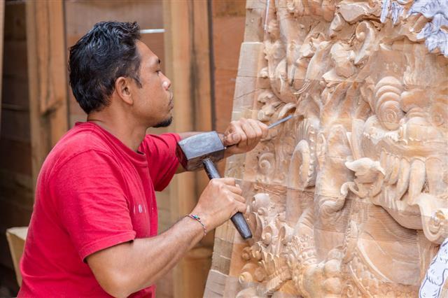 Craftsman Carfing A Woorden Panel