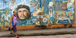 Mural In Baracoa Cuba