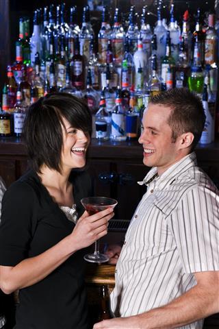 Laughing At The Bar