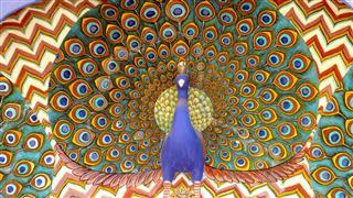 Peacock Wall Motif City Palace Jaipur