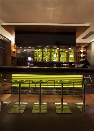 Modern Cafe Bar Interior