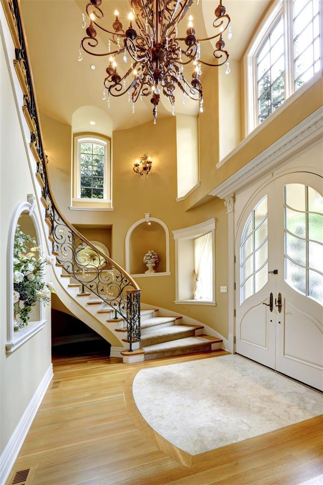 Luxury House Interior Entrance Hallway