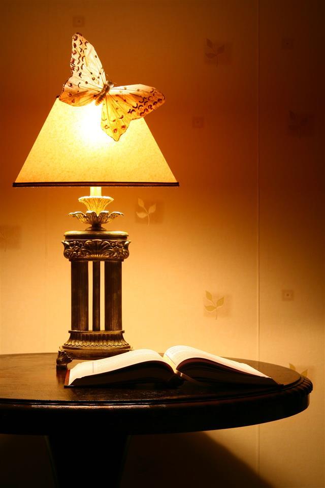 Lamp Late At Night