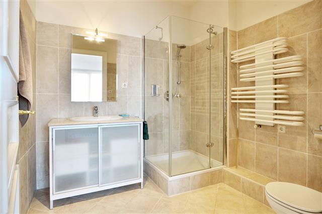 Bright Modern Shower