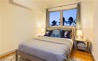 Bedroom In Contemporary Home