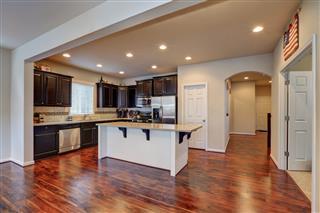 Freshly Remodeled Kitchen Room Interior