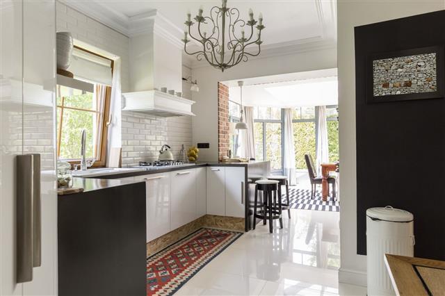 Suburb Modern Kitchen
