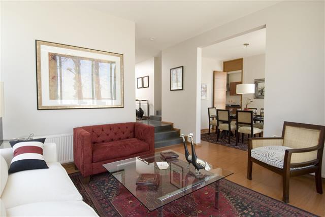 Home Interior Of A Living Room