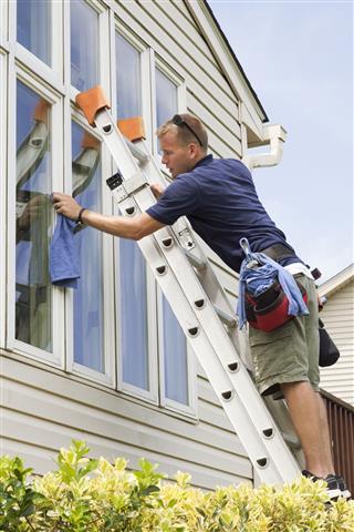 Window Washing Professional