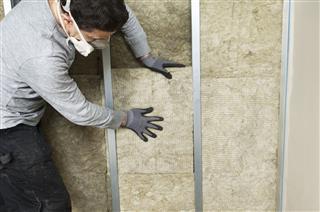 Workman Fitting Wall Insulation