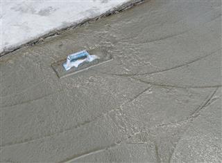 Fresh Concrete On Site Construction