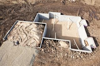 House Basement Wall Foundation