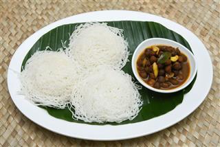 Kerala Breakfast Idiyappam