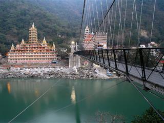 Rishikesh Lakshman Jhula Bridge