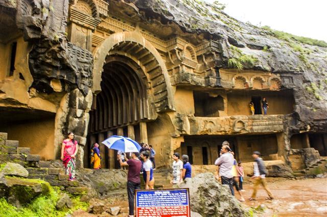 Bhaja Caves In Lonavala Maharashtra