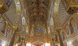 Palermo Mosaic Of Cappella Palatina