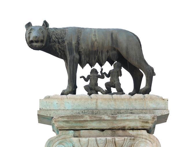Lupa Capitolina Symbol Of Rome City Italy