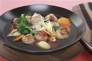 Italian Wedding Soup Meatballs