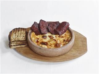 Sausage And Cheese Dish