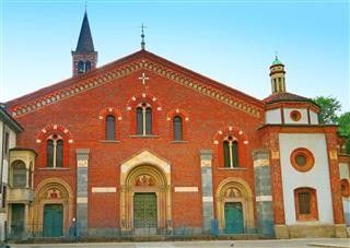 Basilica Of Santeustorgio Milan Italy
