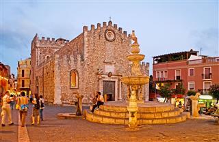 The Evening In Taormina