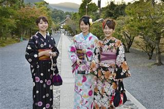 Traditional Japanese Kimonos